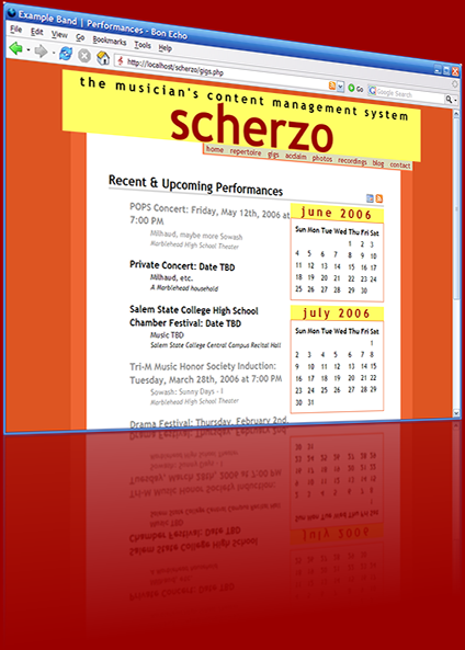 Scherzo screenshot